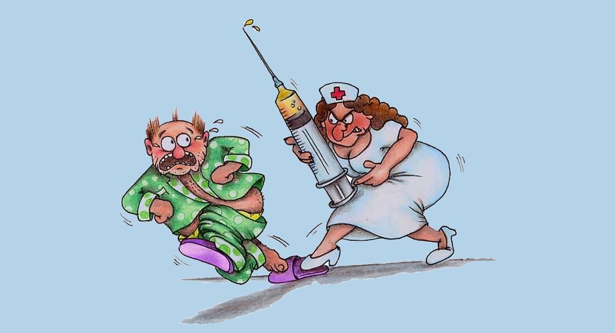 Io e mia moglie, amorevole (e perfida) infermiera….