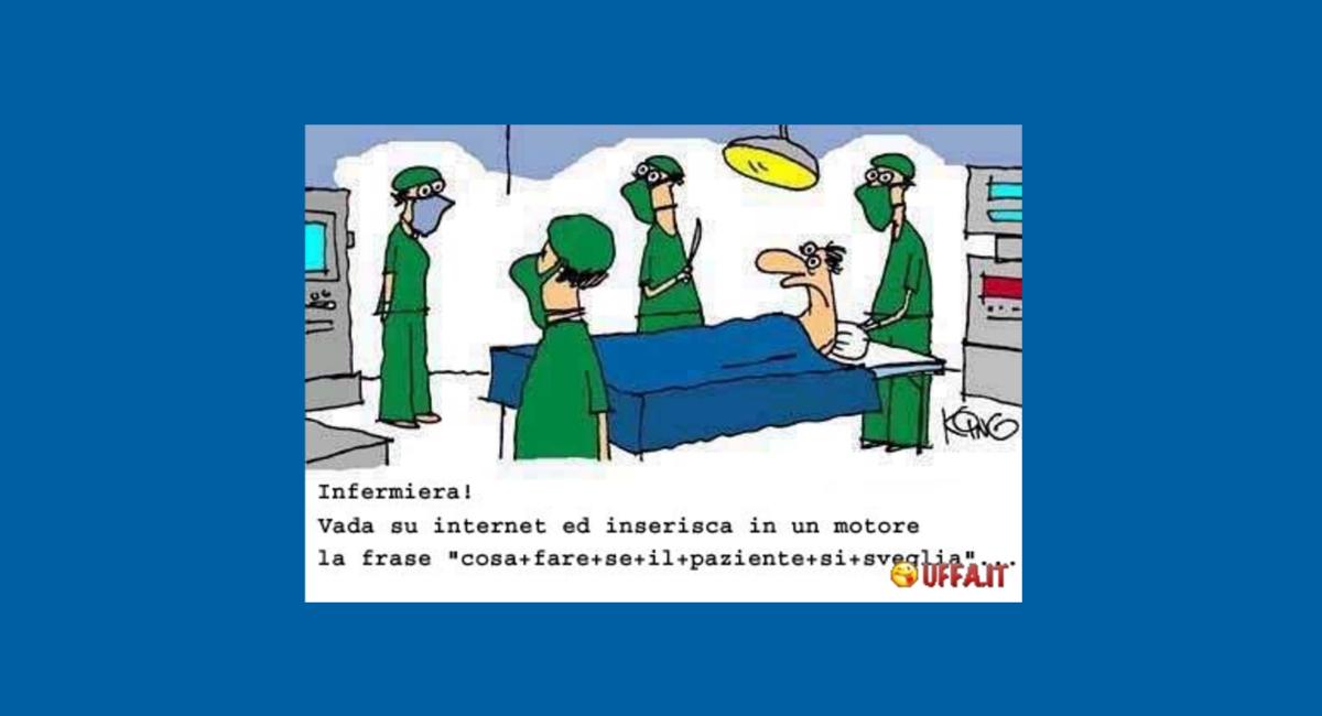 Io, l'intervento chirurgico e… non capita, ma se capita…