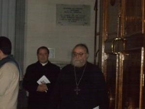 Arcivescovo La Piana e Padre Alessio