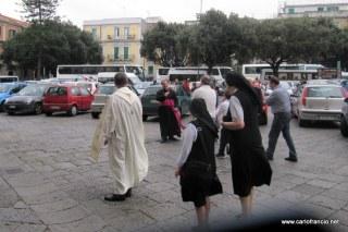 L'arrivo del Vescovo La Piana