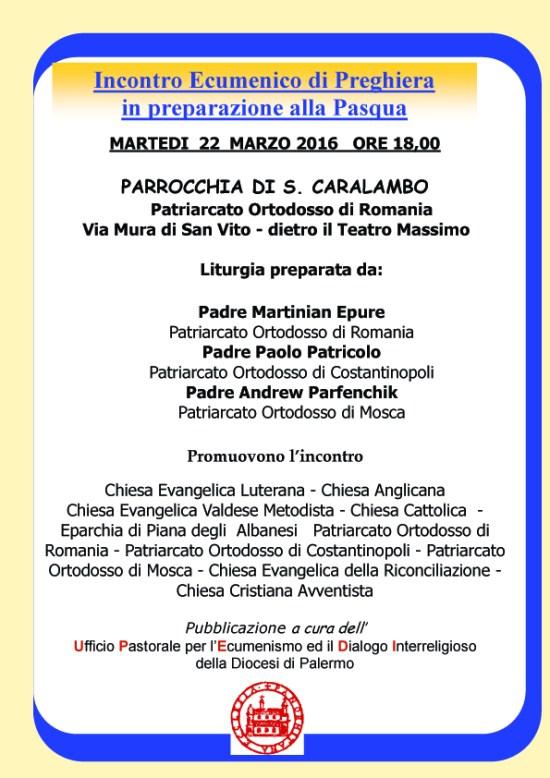locandina x il 22 marzo - preparazione alla Pasqua copia