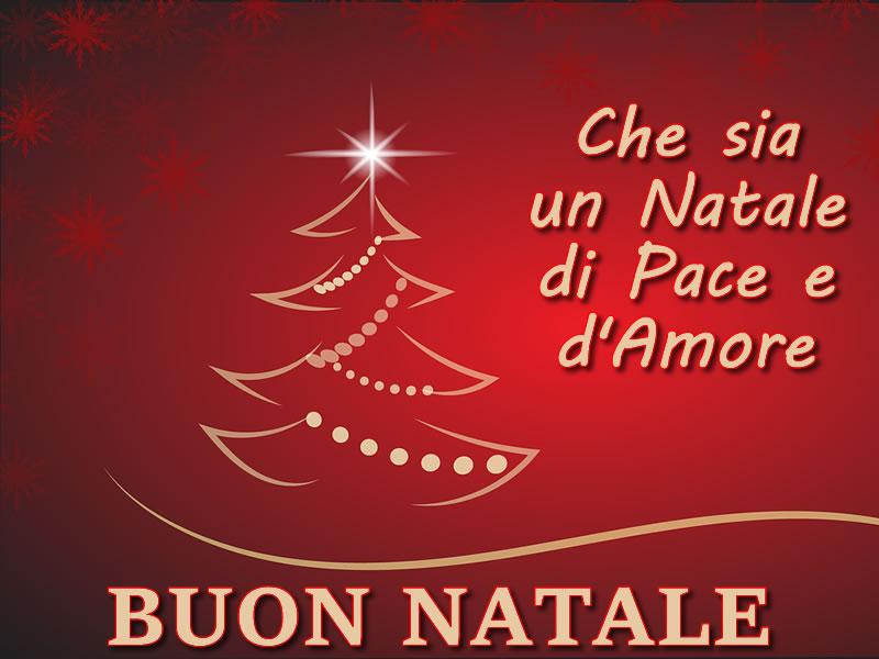 Il natale è una delle feste più romantiche che esistano dopo le classiche festività dedicate all'amore. Immagini Natalizie Auguri Di Buon Natale Con Bel Albero Di Natale E Frase Di Auguri