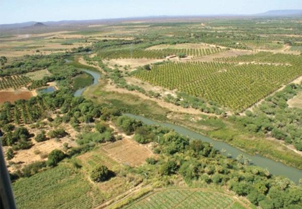 rio salitre foto aérea