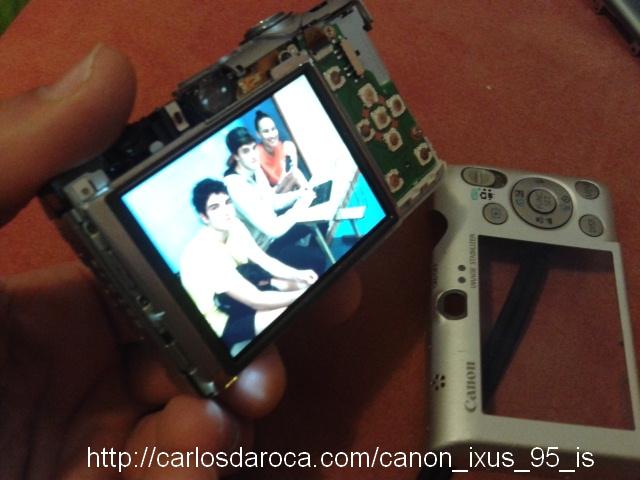 Camara reparada Canon_IXUS 95 IS