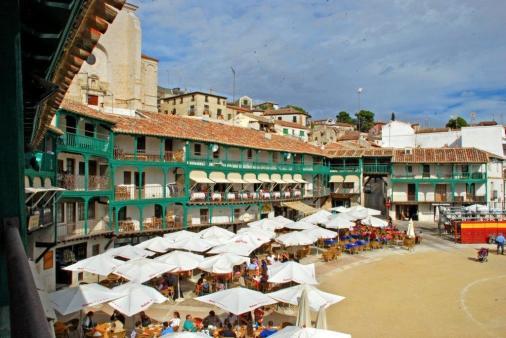 Balcones y terrazas de la Plaza