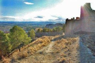 Vistas desde el castillo (Calatayud)