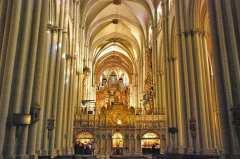 Nave central de la Catedral de Toledo