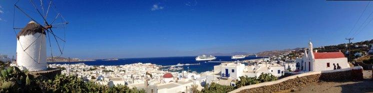Panorama de Mykonos