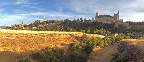 Segovia desde la Iglesia de la Veracruz
