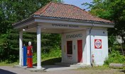 Norsk Folkmuseum. Gasolinera