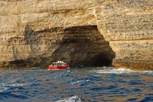 Entada a la Grotte du Sdragonato