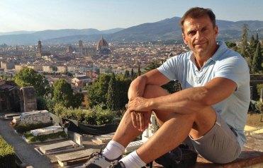 Carlos deViaje en Florencia