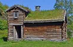 Trøndelag Folkemuseum, Casa-Granero de Roros