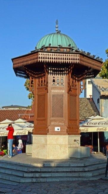 Bascarsija. Fuente Sebilj