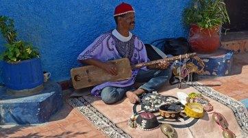 Kasbah de los Udayas. Músico