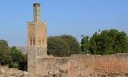 Necrópolis de Chellah. Ruinas y Minarete