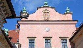 Portada del Castillo de Wawel