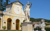 Villa Barbaro. Estatua y Cuerpo Lateral