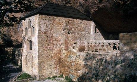 Monasterio de San Juan de la Peña. Vista General