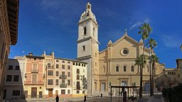 Plaza Calixto III - Colegiata de Santa María