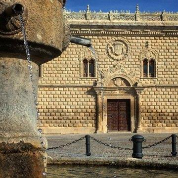Portada de Palacio desde la Fuente