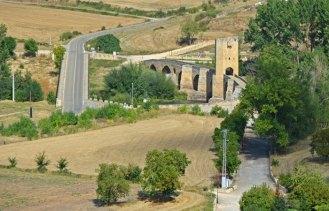 Puente de Frías desde el Castillo