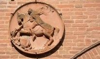 Addizione Erculea. San Jorge y el Dragón