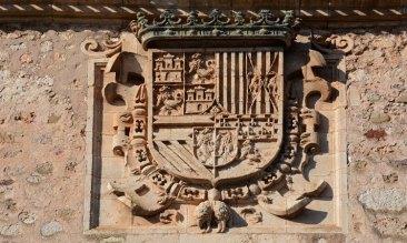 Escudo del Archivo del Adelantamiento de Castilla