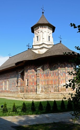 Monasterio Moldevita. Iglesia