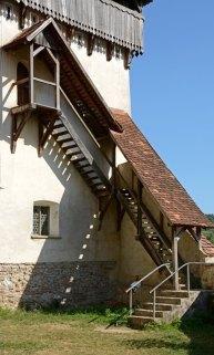 Biertan. Iglesia Fortificada. Torre de la Reconciliación