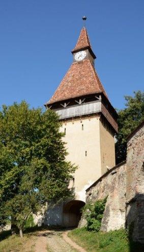 Biertan. Iglesia Fortificada. Torre del Reloj
