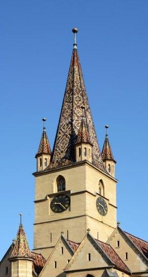 Torre de la Catedral Evangélica de Santa María