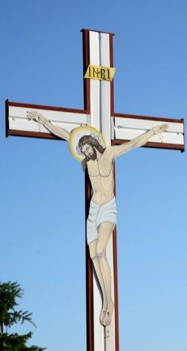 Piatra Fantanele. Cristo del Monasterio de la Natividad
