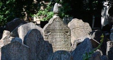 Cementerio Judío. Lápidas