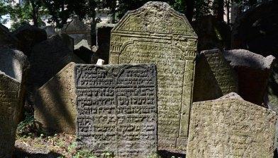 Cementerio Judío. Inscripciones en Lápidas