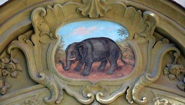 Malá Strana. Insignia de la Casa del Elefante
