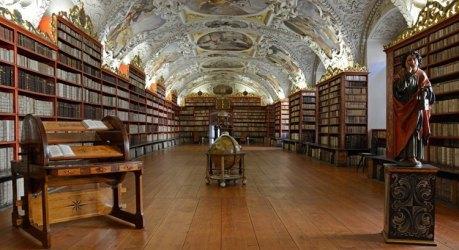 Sala de la Teología del Monasterio Strahov