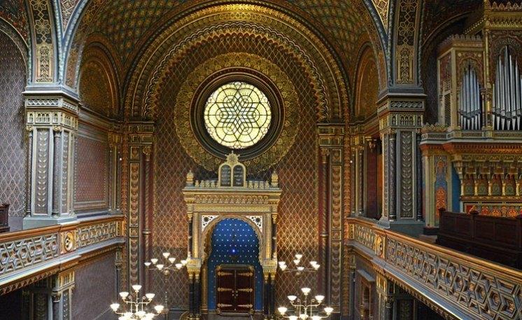 Sinagoga Española. Interior