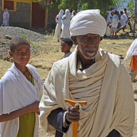 Típico bastón religioso etíope