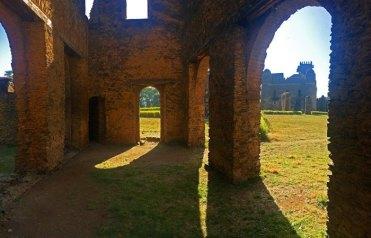 Ruinas del Archivo de Yohannes I