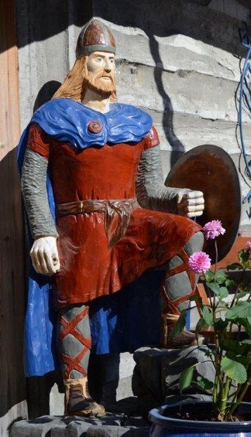 Gudvangen. Vikingo