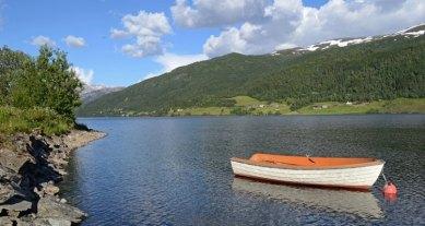 Lago de Oppheim. Barca