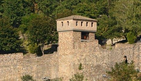 Fortaleza de Tsarevets. Torre de Asenova
