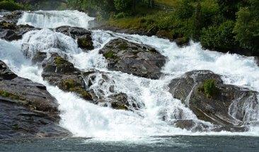 Fiordo de Geirander. Cascada de Hellesylt