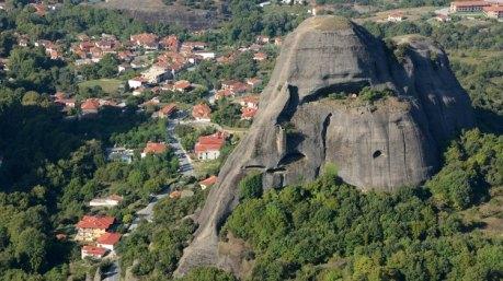 Kastraki desde el Monasterio del Gran Meteoro