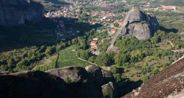 Valle desde el Monasterio de Gran Meteoro
