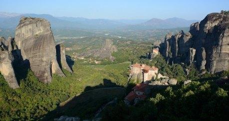 Valle y Monasterios desde el Mirador