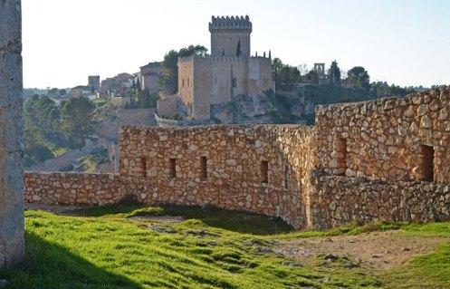 Castillo desde la Torre de Armas
