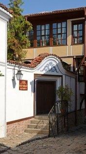 Plovdiv. Casa Alafrangite