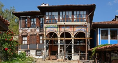 Koprivshtitsa. Casa Oslekov